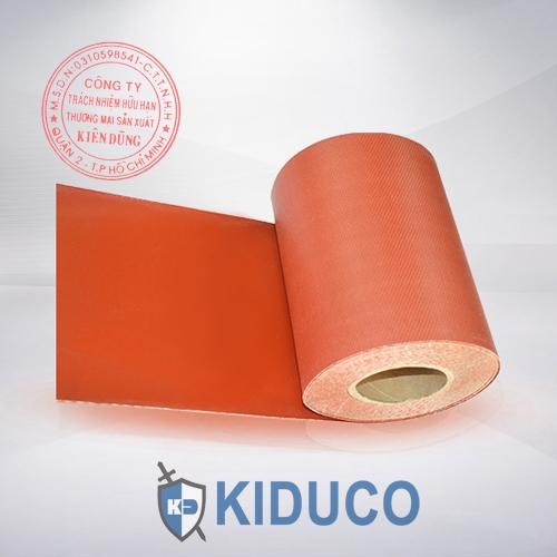 Vải chịu nhiệt, vải chống cháy Kiduco Silicone Coated Fiberglass