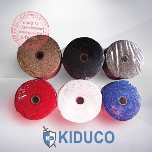 Băng cuộn vải sợi thủy tinh chịu nhiệt Kiduco Fiberglass Tape 1