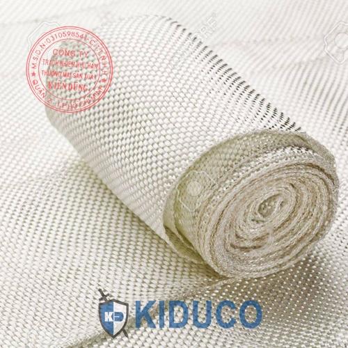 Băng cuộn vải sợi thủy tinh chịu nhiệt Kiduco Fiberglass Tape 2