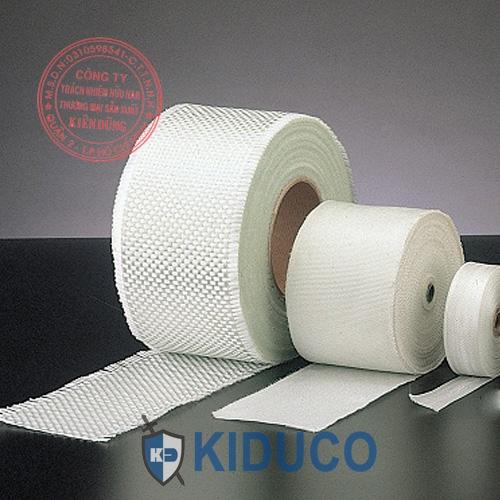 Băng cuộn vải sợi thủy tinh chịu nhiệt Kiduco Fiberglass Tape 3