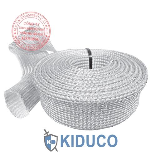 Ống bảo ôn vải sợi thủy tinh Kiduco Uncoated Fiberglass Sleeve 1