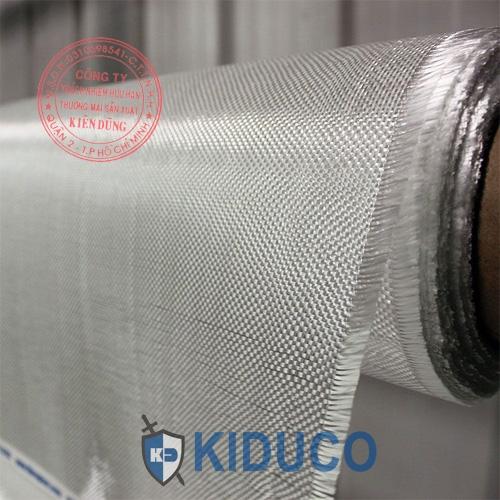 Vải sợi thủy tinh chịu nhiệt cao Kiduco Fiberglass Cloth 1