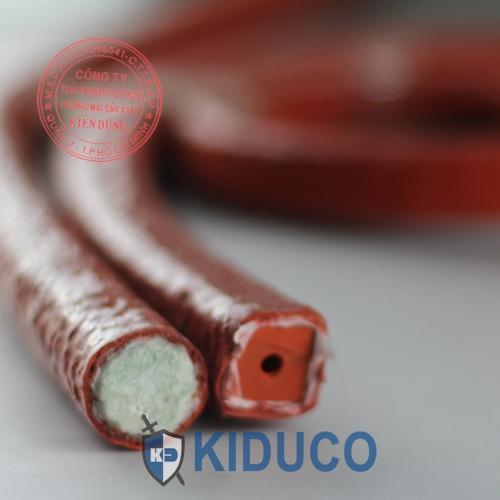Dây chèn kín chịu nhiệt Silicone Coated Fiberglass Rope
