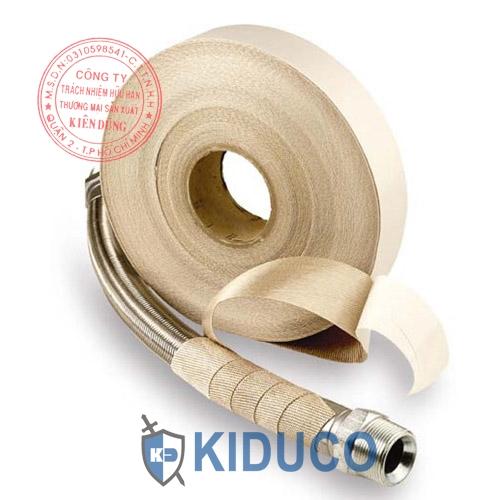 Băng keo vải một mặt chịu nhiệt Kiduco Adhesive Silica Fabric