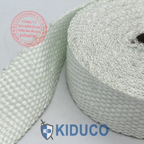 Băng cuộn vải sợi gốm Kiduco Ceramic Fiber Tape