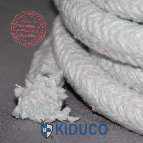 Dây sợi gốm chịu nhiệt cao Kiduco Ceramic Fiber Rope 1