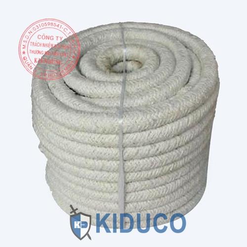 Dây sợi gốm chịu nhiệt cao Kiduco Ceramic Fiber Rope 2