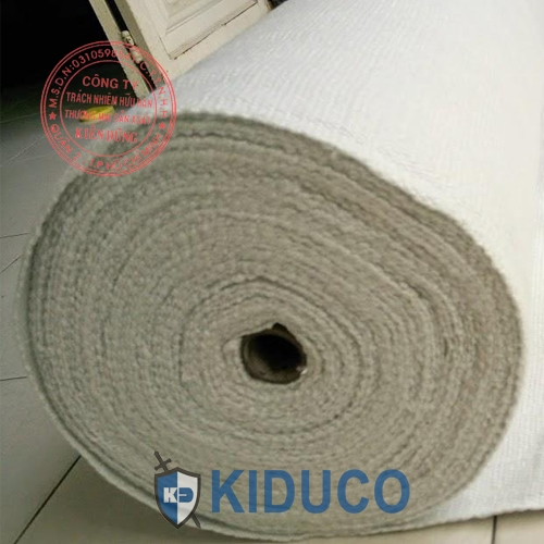 Vải sợi gốm chịu nhiệt cao Kiduco Ceramic Fiber Cloth 1