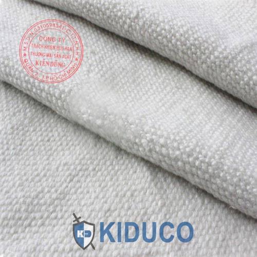 Vải sợi gốm chịu nhiệt cao Kiduco Ceramic Fiber Cloth 2