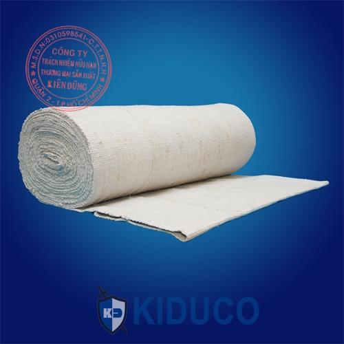 Vải sợi gốm chịu nhiệt cao Kiduco Ceramic Fiber Cloth