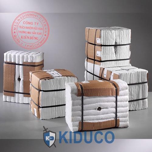 Bông gốm cách nhiệt dạng khối Kiduco Ceramic Fiber Moudle