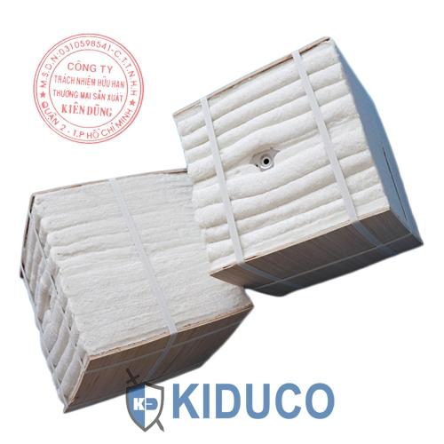 Bông gốm cách nhiệt dạng khối Kiduco Ceramic Fiber Moudle 2