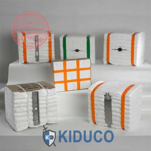 Bông gốm cách nhiệt dạng khối Kiduco Ceramic Fiber Moudle 1