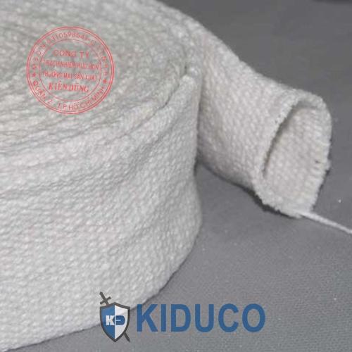 Ống lót bảo ôn cách nhiệt Kiduco Ceramic Fiber Braided Tube 1