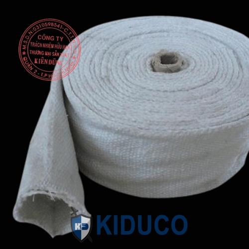 Ống lót bảo ôn cách nhiệt Kiduco Ceramic Fiber Braided Tube 2