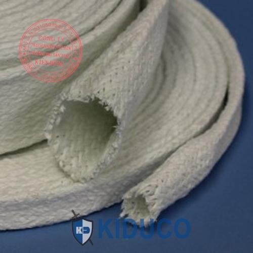 Ống lót bảo ôn cách nhiệt Kiduco Ceramic Fiber Braided Tube