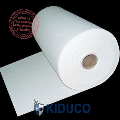 Bông gốm cách nhiệt dạng giấy Kiduco Ceramic Fiber Paper