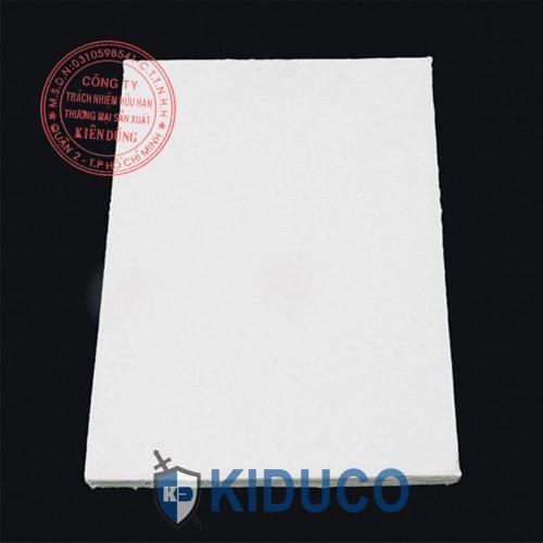 Bông gốm cách nhiệt dạng tấm Kiduco Ceramic Fiber Board 2
