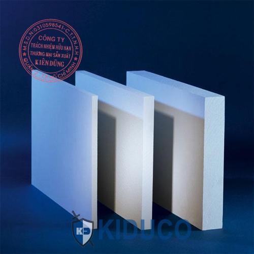 Bông gốm cách nhiệt dạng tấm Kiduco Ceramic Fiber Board 1