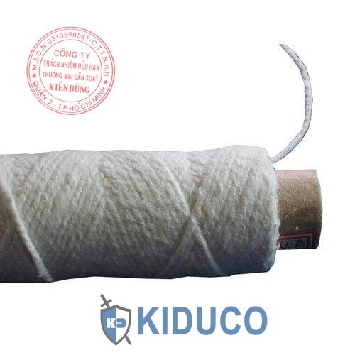 Chỉ sợi gốm chịu nhiệt Kiduco Ceramic Fiber Yarn 1