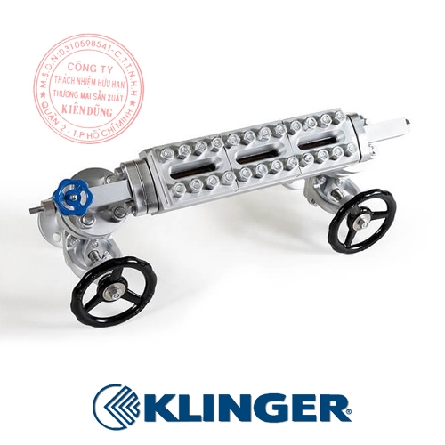 Thước đo mức kép Klinger Bi-color Level Gauges 2