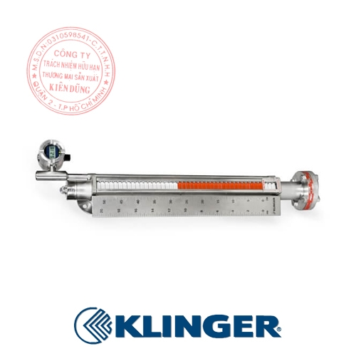 Thước đo mức dạng từ tính Klinger Magnetic Level Gauges 1