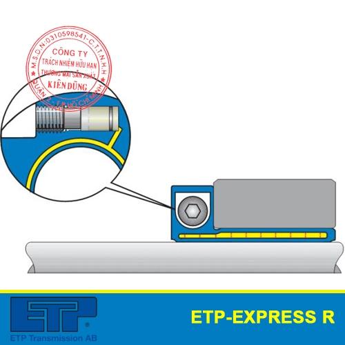 Khớp nối thủy lực ETP-Express R cho ngành thực phẩm single screw mounting