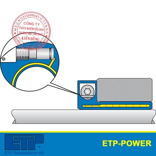 Khớp nối thủy lực ETP-Power côn đơn hiệu suất cao single screw mounting
