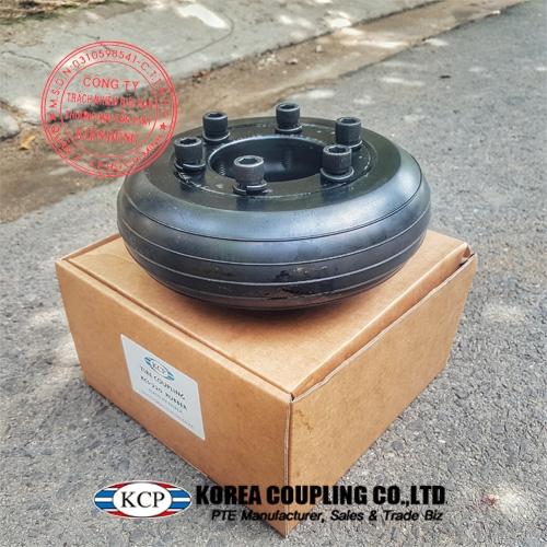 Hình ảnh thực tế khớp nối bánh xe cao su KCP Tire Coupling KCS-P 220 Tire