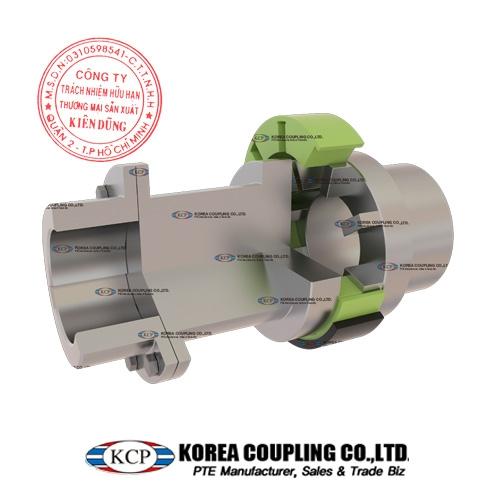 Trọn bộ khớp nối đàn hồi KCP KW Flex Coupling KW35