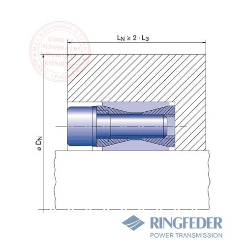 Thiết bị khóa trục côn Ringfeder RfN 7012.2 location