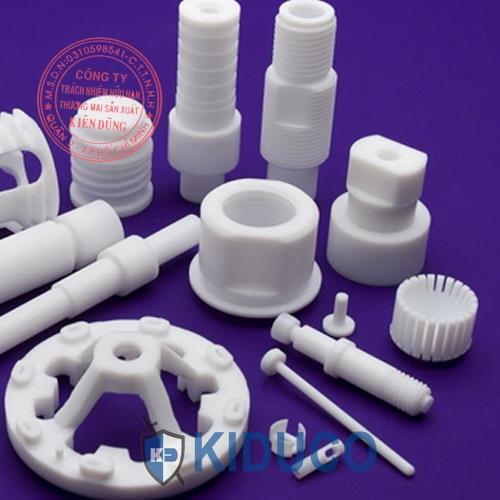 Nhựa teflon cây - PTFE Rod dạng cây trụ đặc tròn 2