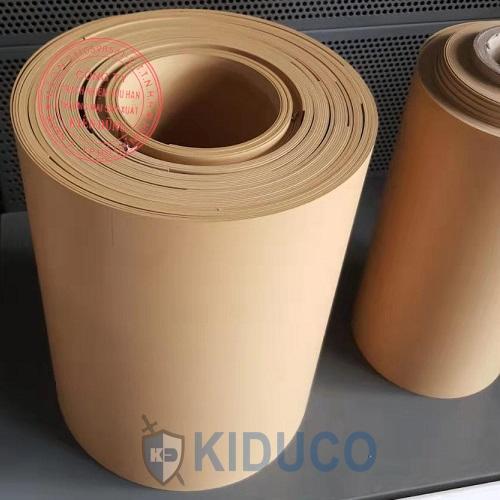 Gioăng đệm teflon pha đồng, pha graphite Filled PTFE Gasket 1