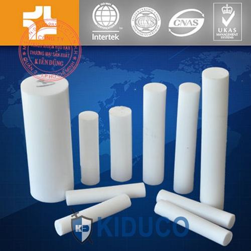 Nhựa kỹ thuật, thanh teflon đùn Kiduco Extruded PTFE Rod