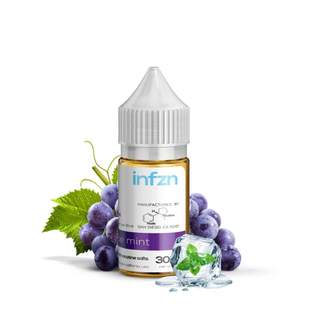 juice salt ni mĩ 30ml infzn grape mint