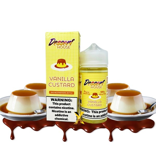 100ml Mỹ Dessert House Vanilla Custard