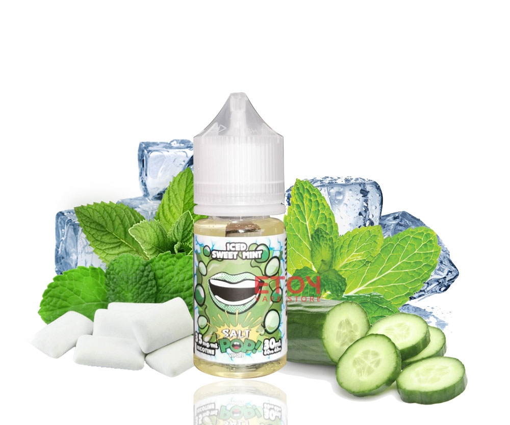 30ml salt Mỹ POP ICE SWEET MINT