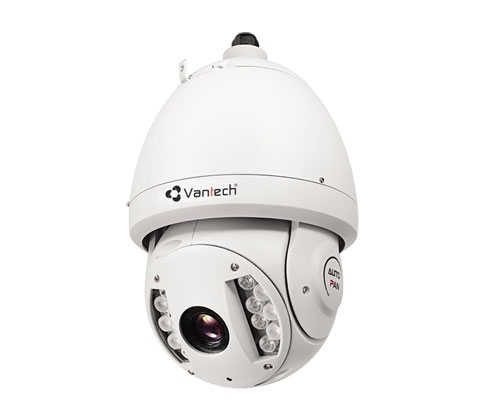Camera IP SpeedomeVantech VP-4561 1.3 Megapixel, Zoom quang học 20X, H.264, IP66