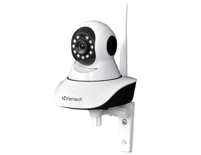 Camera IP Vantech VT-6300B 1.3 Megapixel, 11 IR LEDs, P2P, H.264 Wireless Pan/Tilt IP Camera