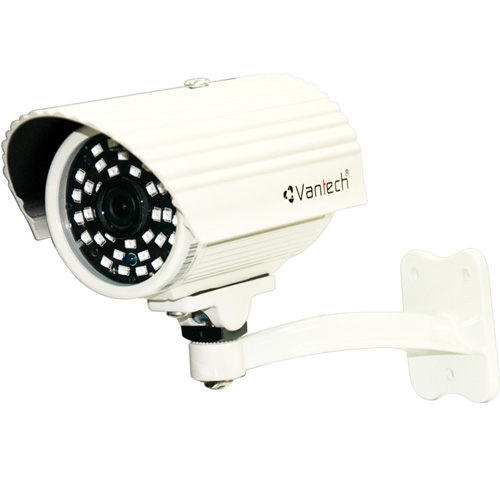 Camera IP Vantech VP-153A 1.0 Megapixel CMOS,H.264 & MJPEG, 36 Smart Led IR 30-40m, Onvif
