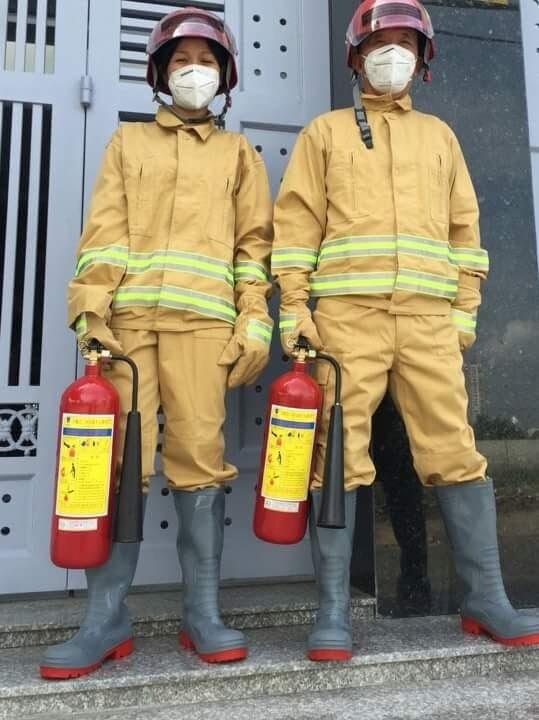 Bộ quần áo chữa cháy theo thông tư 48 - BCA Tổng kho thiết bị PCCC ...