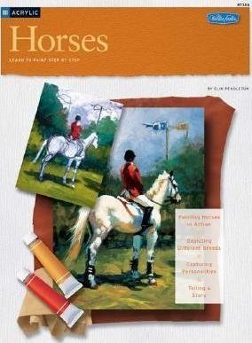 Acrylic: Horses (HT285) (How to Draw & Paint/Art Instruction Program)