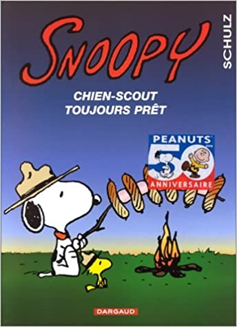 Snoopy, chien-scout toujours prêt