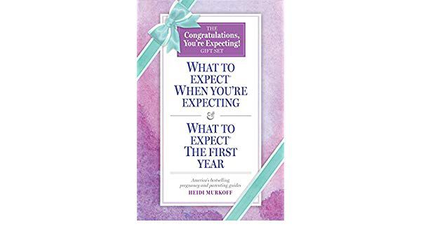 The Congratulations, You're Expecting! Gift Set by Heidi Murkoff, Sharon Mazel (With)