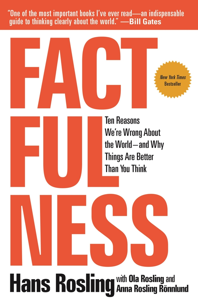 Factfulness: Ten Reasons We're Wrong About the World by Hans Rosling