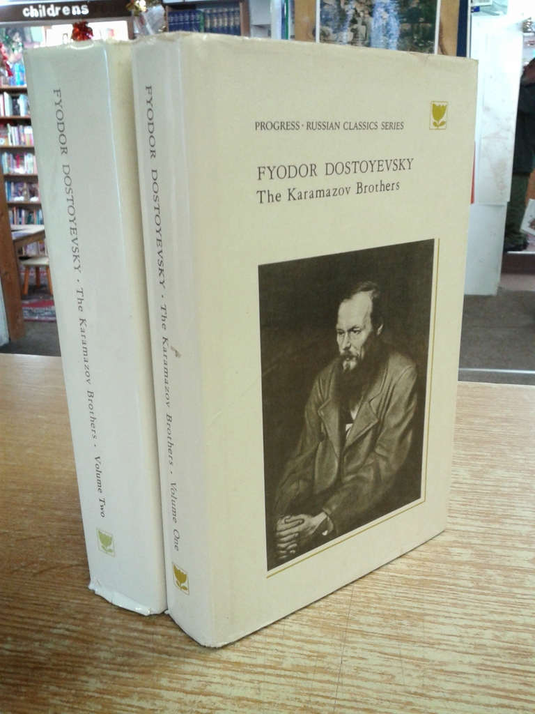 The Karamazov Brothers (2 Vol.) (1980) by Fyodor Dostoyevsky