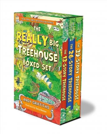 The Really Big Treehouse Boxed Set : (the 13-Story Treehouse; The 26-Story Treehouse; The 39-Story Treehouse) by Andy Griffiths , Illustrated by Terry Denton