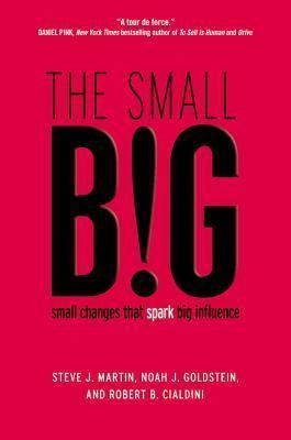 The Small Big : Small Changes That Spark Big Influence by Steve J Martin / Noah Goldstein / Robert Cialdini