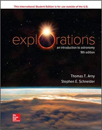 Explorations: An Introduction to Astronomy by Thomas Arny