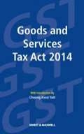Goods and Services Tax Act 2014 of Malaysia